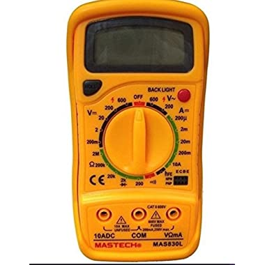 Mastech MAS830L Digital Pocket Multimeter (Assorted) 11