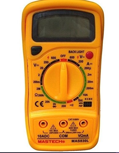 Mastech MAS830L Digital Pocket Multimeter (Assorted) 2