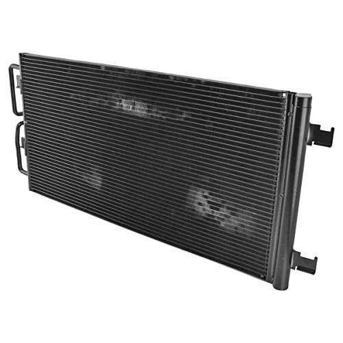 (AC Condenser A/C Air Conditioning with Receiver Drier for GM 3.8L 3.5L 3.9L)