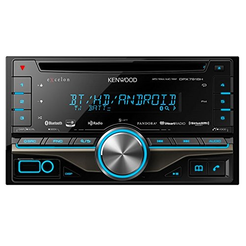 Kenwood eXcelon DPX791BH CD Receiver with Built-in Bluetooth and HD - Receiver Sat Hd