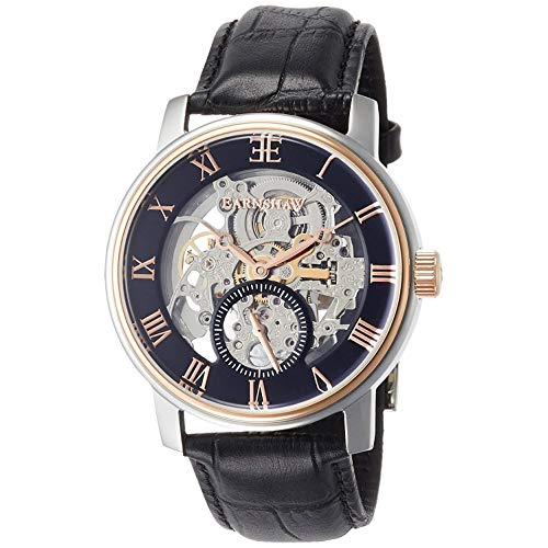 Thomas Earnshaw Men's Westminster 42mm Black Leather Band Steel Case Automatic Analog Watch ES-8041-04