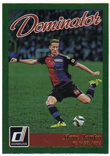 fan products of 2016 Donruss Dominators Holographic #28 Marc Janko FC Basel 1893 Soccer Card