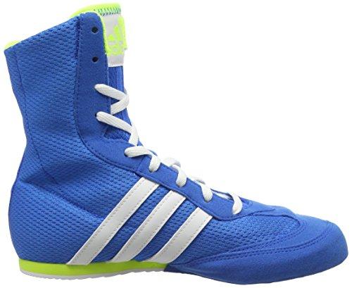 adidas Box Hog 2, Chaussures de Boxe Mixte Adulte Bleu (Blue)
