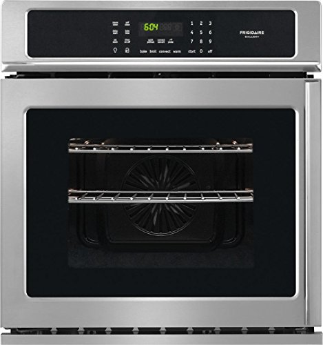 Frigidaire FGEW276SPF 27″ 3.8 Cu. Ft. Capacity Electric Single Wall Oven in Stainless Steel