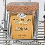 Hiwa Kai Black Hawaiian Sea Salt - Artisan Salt Co. - Cork Jar
