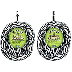 (2 Pack) Ware Manufacturing Fuzz-E-Bed Safari Sleepers, Large, Colors May Vary