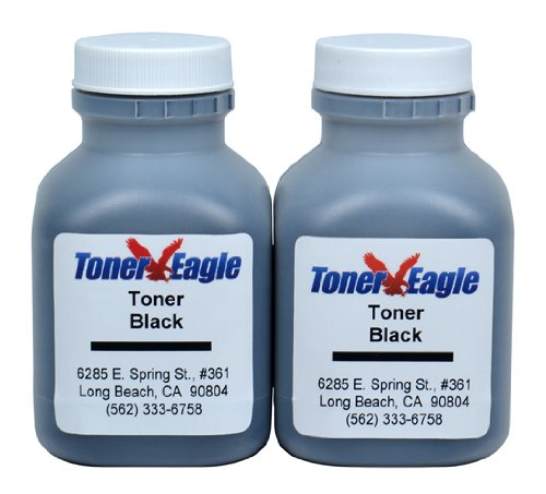 Hewlett Packard HP Laserjet 1200 1200n 1200se 1220 1220se 15X Two (2) Black Toner Refill Kits. Refills C7115X. Manufactured by Toner Eagle. FREE 2 Day U.S. Shipping.