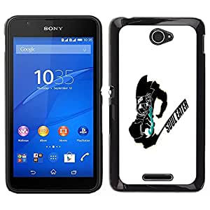 Impact Case Cover with Art Pattern Designs FOR Sony Xperia E4 Soul Eater Betty shop