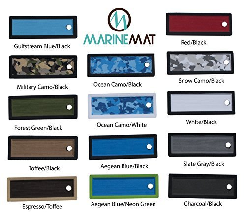 Complete Elite Series Kayak Pad by MARINEMAT. Kit Fitting: Hobie Pro Angler 14 by Marine Mat (Image #4)