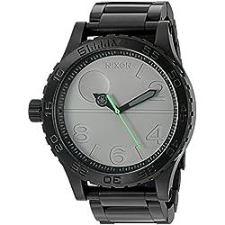 Nixon Men's '51-30 SW, Death Star' Quartz Stainless Steel Casual Watch, Color:Black (Model: A172SW-2383-00)