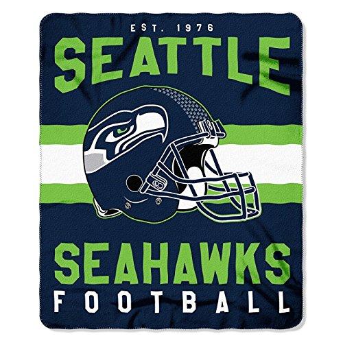 Seattle Seahawks NFL Football Sports Team 50x60 Fleece Fabric Throw