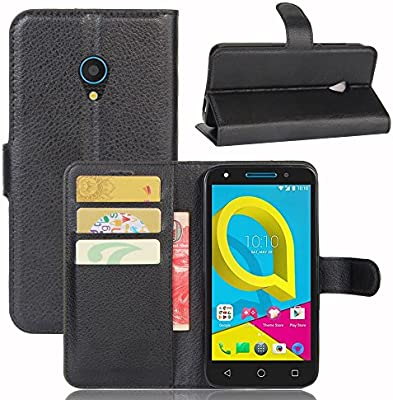 Guran® Funda de Cuero PU para Alcatel U5 4G Smartphone Función de ...