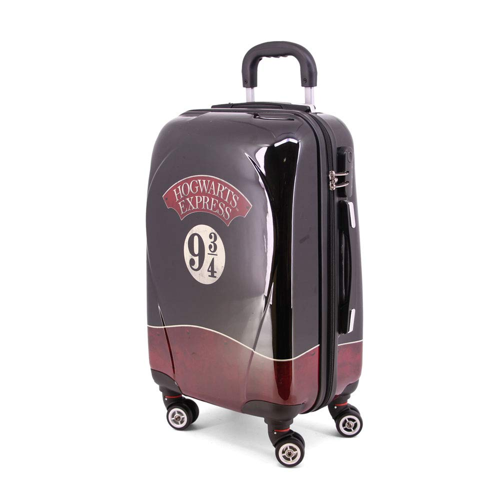 Karactermania Harry Potter Express-maleta Trolley Abs (pequeñ a) Bagage Cabine, 54 cm, 35.5 liters, Noir (Negro) 38837