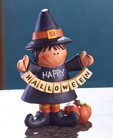 Halloween Figurines Witch Figure