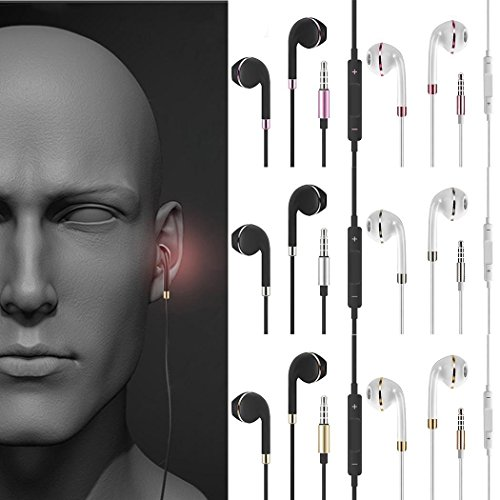 General Stereo in-Ear Earphones Earbuds Handsfree Sport Wired Headset