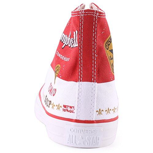 Converse Hightop Sneaker Rosso / Bianco