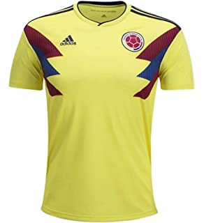 7b8398dd2 World Cup Soccer Mens adidas 2018 FIFA World Cup Men s Colombia Home Jersey