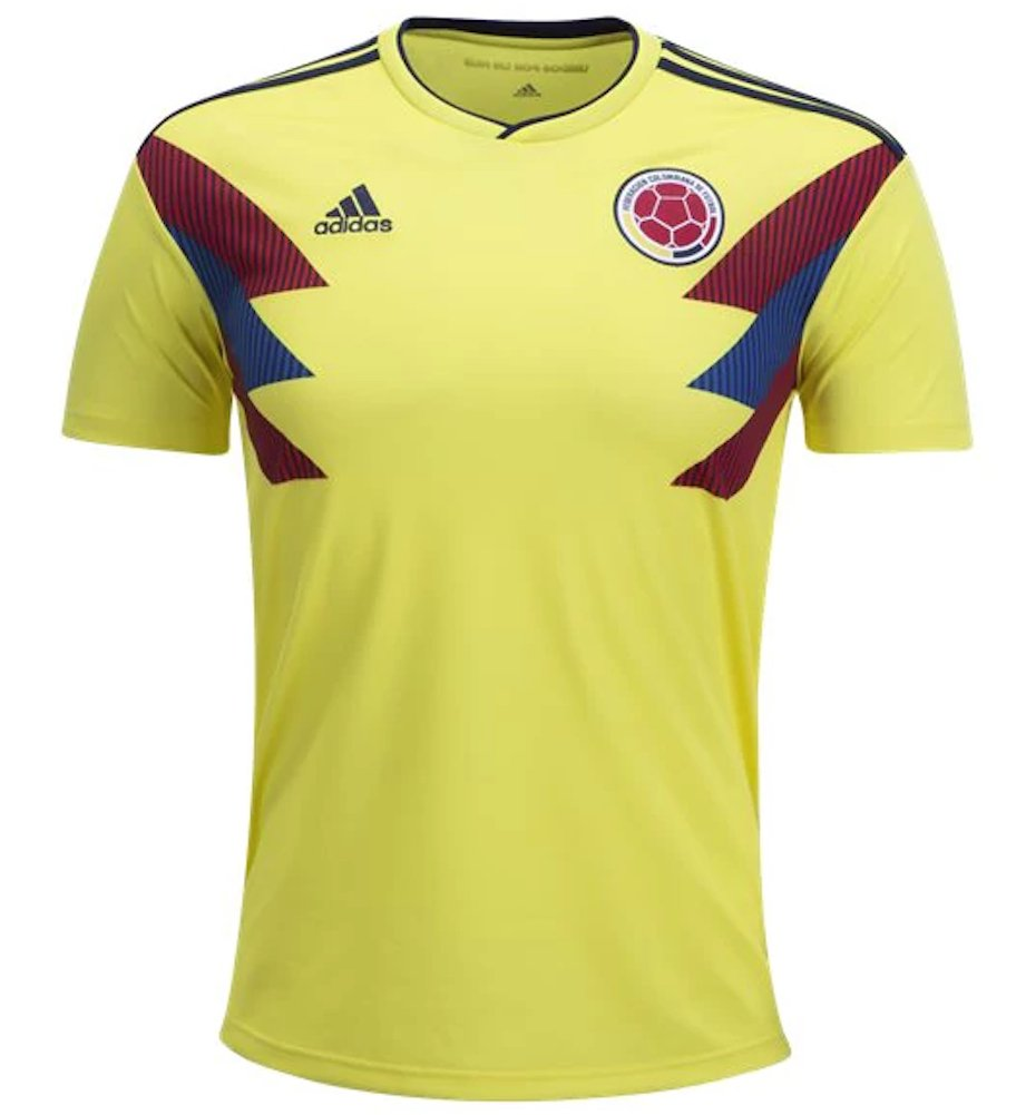 5af709f0c Amazon.com: adidas Men's Soccer Colombia Jersey: Sports & Outdoors