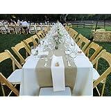 Burlap Table Runners: Rustic Weddings or Events (120 x 15)