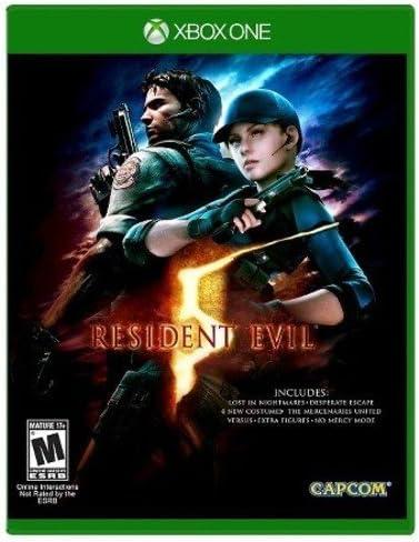Amazon Com Resident Evil 5 Standard Edition Xbox One Renewed