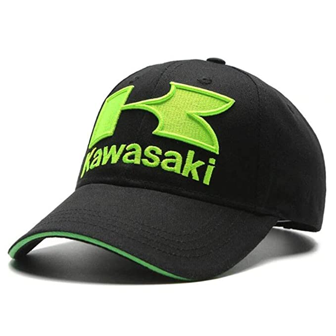 Kawasaki - Racing Embroideried Kawasaki Cap Hat MotoGP Baseball Cap dad hat Bone Casquette Kawasaki hat