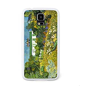 CaseCityLiu - Daubigny Garden Vincent Willem van Gogh Oil Painting Design White Bumper Plastic+TPU Case Cover for Samsung Galaxy S5