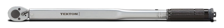 25-250 ft.-lb.//33.9-338.9 Nm TEKTON 24340 1//2-Inch Drive Click Torque Wrench