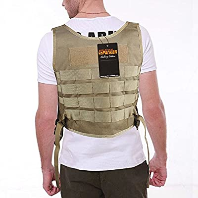 Excellent Elite Spanker Mechanic Molle1000D Nylon Tactical Apron Set(Coyote Brown)