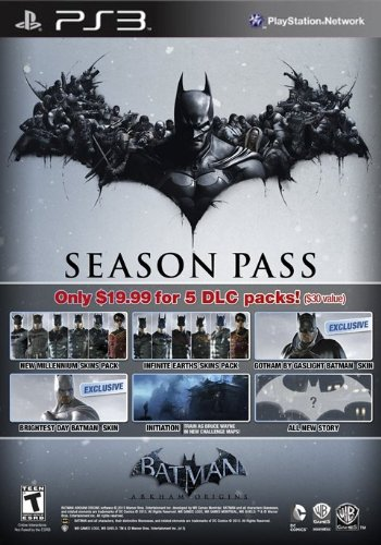 Batman Arkham Origins: Season Pass - PS3 [Digital Code]