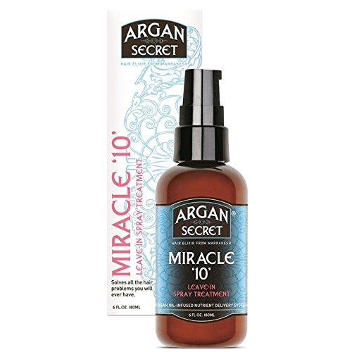 Argan Secret Miracle 10 (Bigger Size Better Value 180mls )