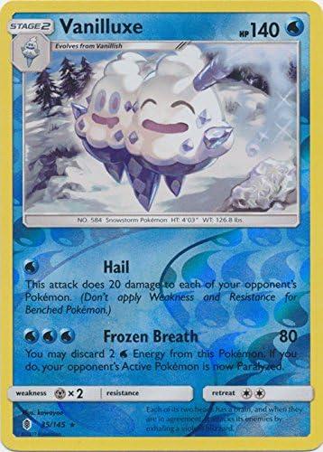 35//145 Sun /& Moon: Guardians Rising Pokemon: Vanilluxe Rare