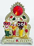 DollsofIndia Jagannathdev,Balaram and Subhadra for Car Dashboard - 2 x 1.5 inches