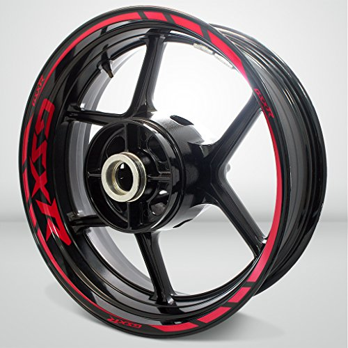 Red Motorcycle Rims - 8