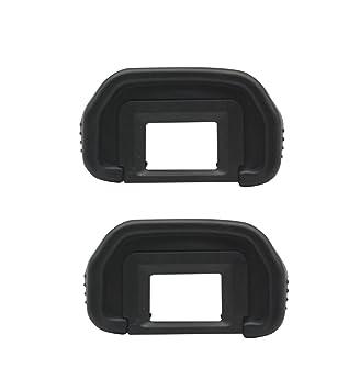 Generic [2 Pack] EB rubber Eyecup Eyepiece Visor para Canon EOS ...