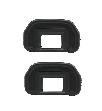 ceari [2 unidades] EB Ocular de goma ocular visor para Canon EOS ...