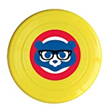 XJBD Unisex Glasses Cubs Bears Outdoor Game, Sport, Flying Discs,Game Room, Light Up Flying, Sport Disc ,Flyer Frisbee,Ultra Star Yellow One Size
