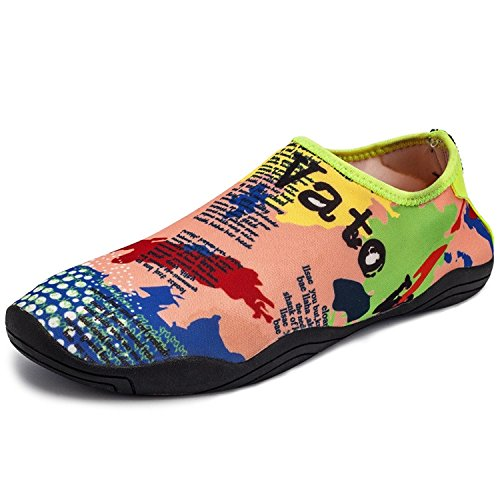 Snorkeling Beach Rubber Soft Quick Drying Shoes Barefoot Lightweight Slip Yoga Water haoYK Water Map Non q8Zzz0