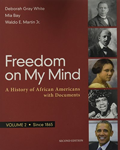 Search : Freedom on My Mind, Volume 2: A History of African Americans, with Documents