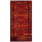 Safavieh Vintage Hamadan Collection VTH216C Orange Area Rug (2'7″ x 5′)
