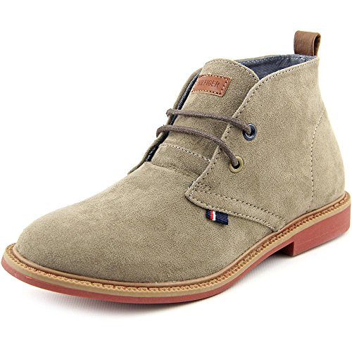 Tommy Hilfiger Kids Michael Boy Chukka Boot ,Taupe,3 M US Li