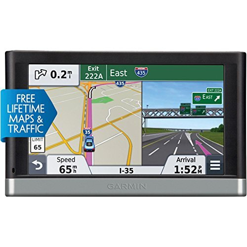 Garmin nuvi 2597LMT 5-Inch Bluetooth Portable Vehicle GPS with Lifetime Maps and Traffic 2597LMT (Renewed) (Best Tomtom For The Money)