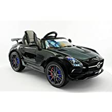 LICENSED MERCEDES SLS AMG FINAL EDITION 12V Kids Ride-On Car MP3+MP4 Color LCD Battery Powered RC Parental Remote + 5 Point Safety Harness (Limited Edition)