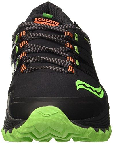 Men's Orange Running Black Slime Shoe Viz Saucony Xodus GTX FwdaF8