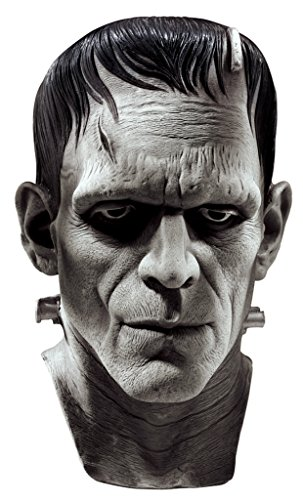 [Frankenstein The Monster Deluxe Party Latex Adult Halloween Costume Mask] (Four Group Costumes)