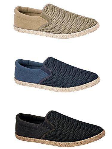 Espadrille Navy Foster adulti Footwear donna Ragazzi uomo Unisex 65xxTpFqw