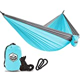 GREENLIGHT OUTDOOR Team always insist on supplying high quality products and best service. Spending the same money, you can get a better parachute camping hammock. If you have any issue with our hammocks at any time, please always contact us (gree...