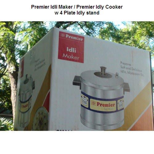Premier Aluminium Idly cooker — 4 plates (16 idlies)