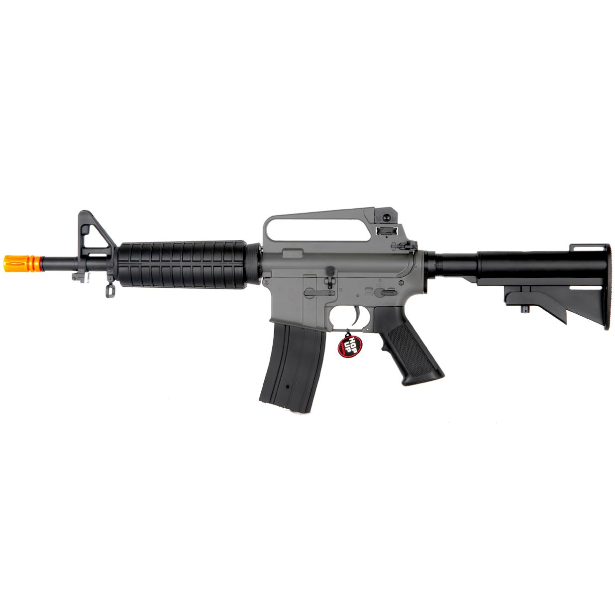 MetalTac JG FB-6601 Electric Airsoft Gun CQB Commando, Full Metal Body, Metal Gearbox Version 2, Auto AEG, Upgraded Powerful Spring 410 Fps with .20g BBs