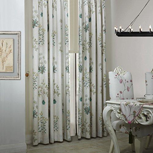 Botanical Curtains Amazon Com