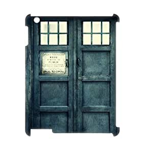Ipad 2,3,4 3D DIY Phone Back Case with Police Box Image